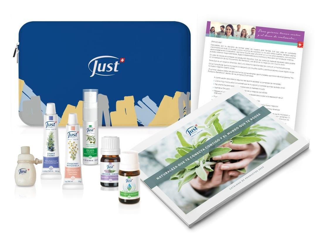 Kit catalogo productos just negocio personal